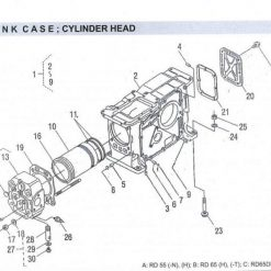 Crank Case RD 45-55-65