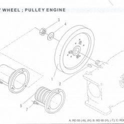 Fly Wheel RD 45-55-65