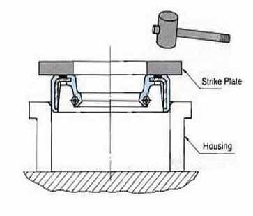 Cara memasang seal oil yang benar 4