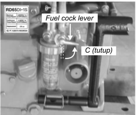 Cara Penyimpanan Mesin Diesel Kubota 33
